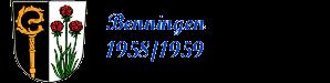 Benninger Jahrgang  1958 - 1959